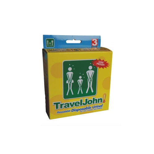 Travel-John Disposable Personal Urination Pouch