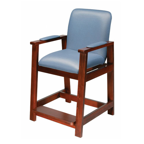 Deluxe Bariatric Wood Frame Hip Chair
