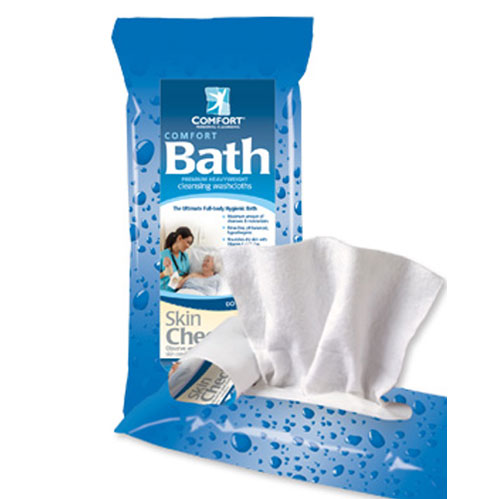 Comfort Bath Rinse-Free Washcloth Cleansing System